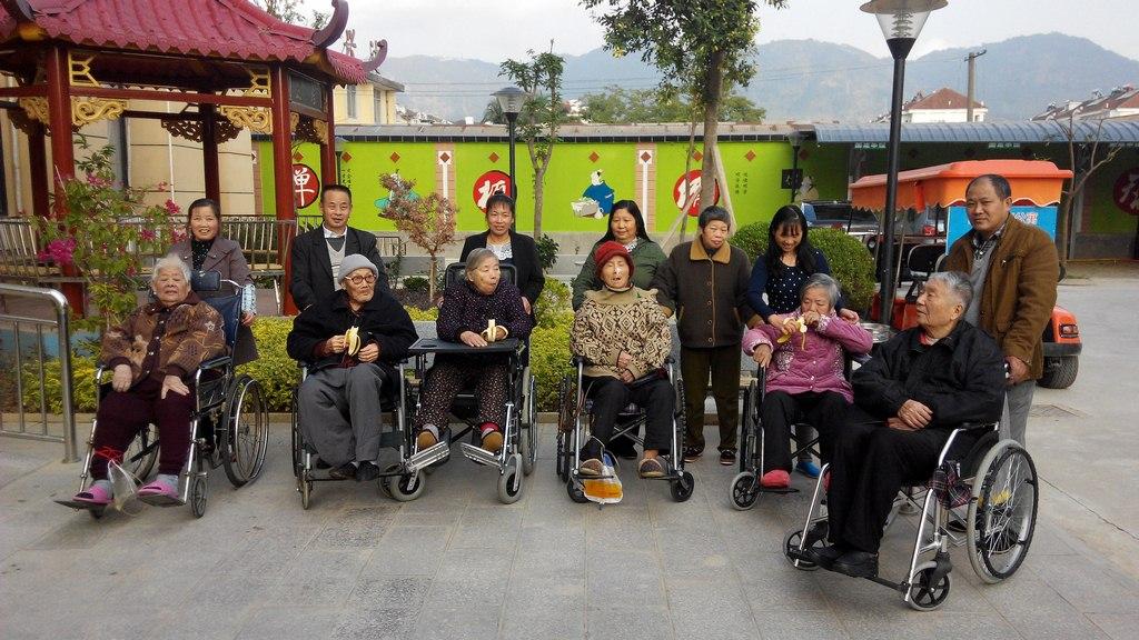 关爱老人 - 社工服务 - 福建省长青养老服务有限公司